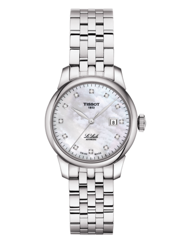 Tissot T-Classic Le Locle Automatic Lady Watch - T006.207.11.116.00 - 771128