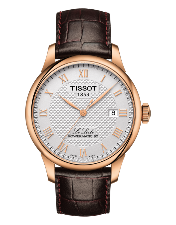 Tissot T-Classic Le Locle Powermatic 80 Automatic Watch - T006.407.36.033.00 - 780196