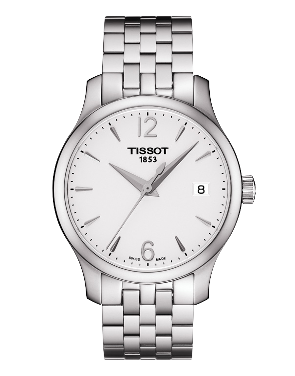 Tissot T-Classic Tradition Quartz Watch - T063.210.11.037.00 - 757375 - Salera's
