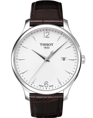 Tissot T-Classic Tradition Quartz Watch - T063.610.16.037.00 - 748450