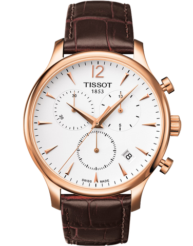 Tissot T-Classic Tradition Quartz Chronograph - T063.617.36.037.00