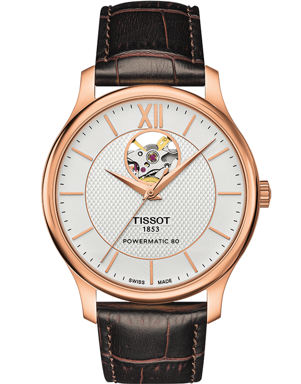 Tissot T-Classic Tradition Automatic Watch - T063.907.36.038.00 - 764199 - Salera's