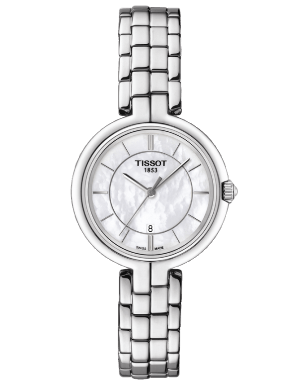Tissot T-Lady Flamingo Quartz Watch - T094.210.11.111.00 - 760473 - Salera's
