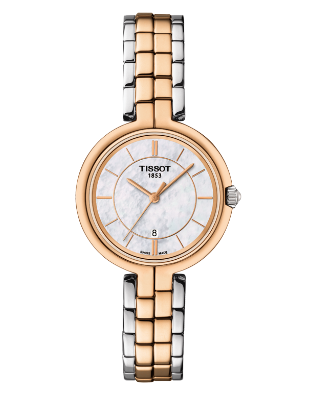 Tissot T-Lady Flamingo Quartz Watch - T094.210.22.111.00 - Salera's Melbourne, Victoria and Brisbane, Queensland Australia