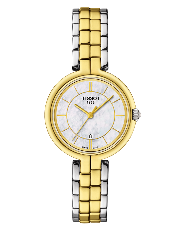Tissot T-Lady Flamingo Quartz Watch - T094.210.22.111.01 - 762658 - Salera's