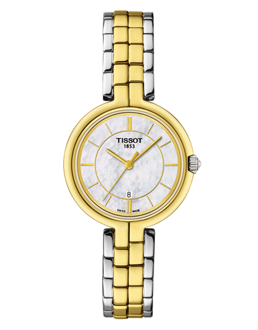 Tissot T-Lady Flamingo Quartz Watch - T094.210.22.111.01 - 762658