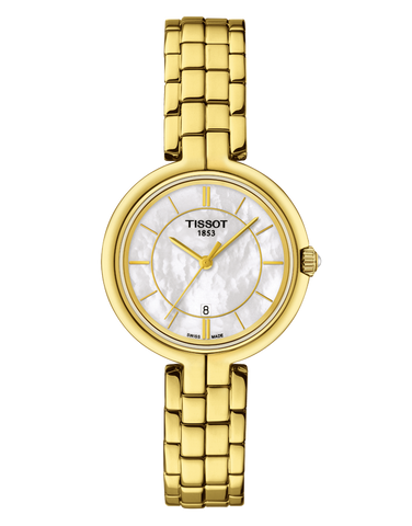 Tissot T-Lady Flamingo Quartz Watch - T094.210.33.111.00