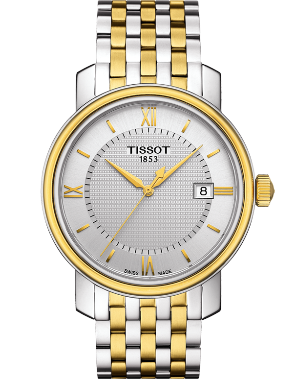 Tissot T-Classic Bridgeport Quartz Watch - T097.410.22.038.00 - 760468 - Salera's