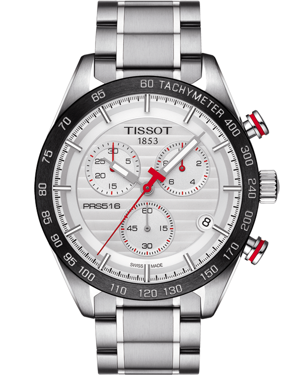 Tissot T-Sport PRS 516 Quartz Chronograph - T100.417.11.031.00 - Salera's Melbourne, Victoria and Brisbane, Queensland Australia
