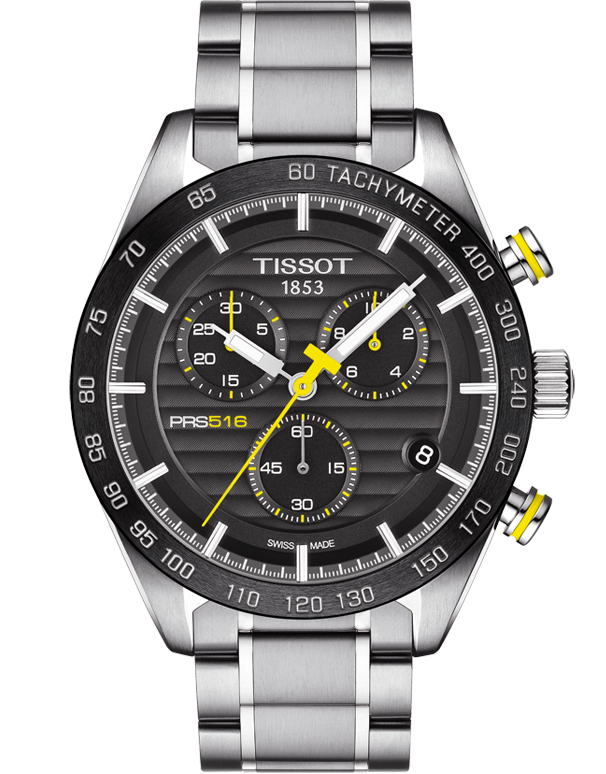 Tissot T-Sport PRS 516 Quartz Chronograph - T100.417.11.051.00 - Salera's Melbourne, Victoria and Brisbane, Queensland Australia