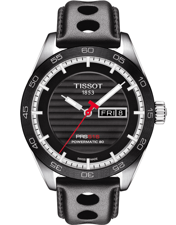 Tissot T-Sport PRS 516 Mechanical Watch - T100.430.16.051.00 - Salera's Melbourne, Victoria and Brisbane, Queensland Australia