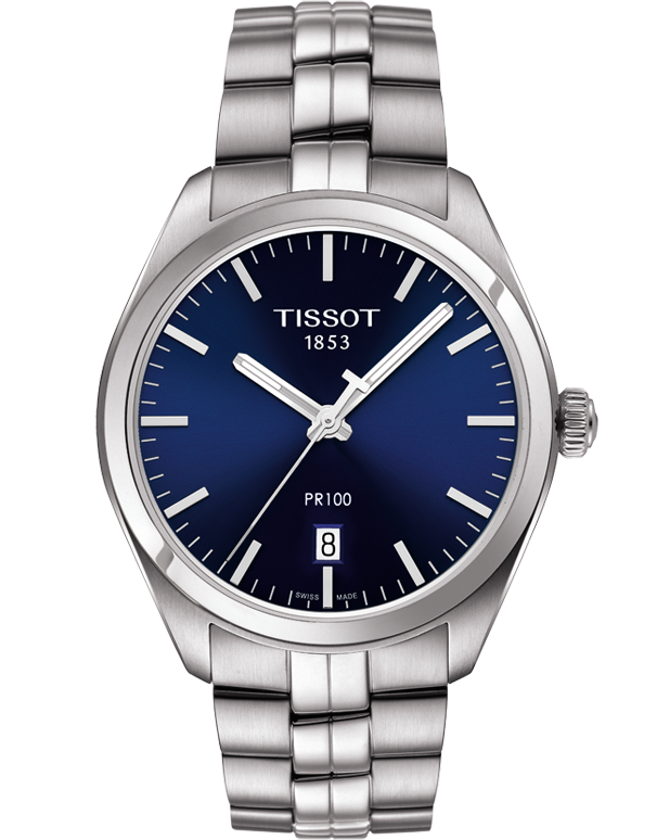Tissot T-Classic PR 100 Quartz Watch - T101.410.11.041.00 - Salera's