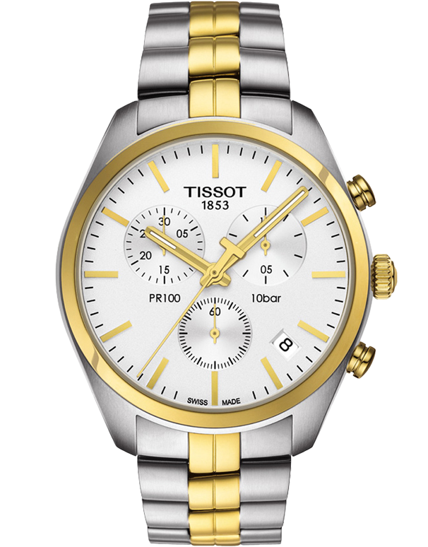 Tissot T-Classic PR 100 Quartz Chronograph - T101.417.22.031.00 - Salera's Melbourne, Victoria and Brisbane, Queensland Australia