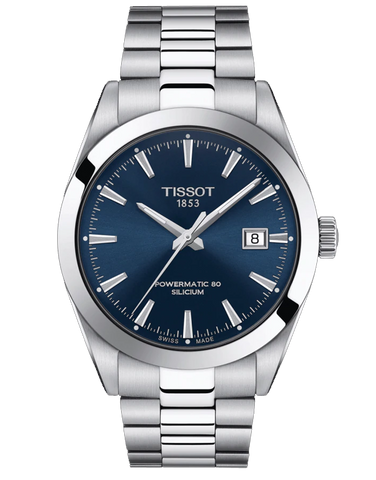 Tissot Gentleman Powermatic 80 Silicium Watch - T127.407.11.041.00 - 780325