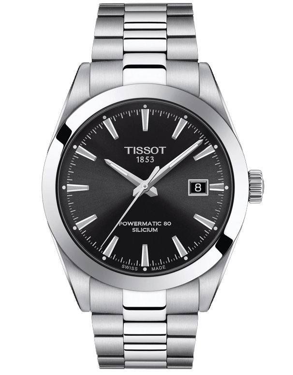 Tissot Gentleman Powermatic 80 Silicium Watch - T127.407.11.051.00 - 781784