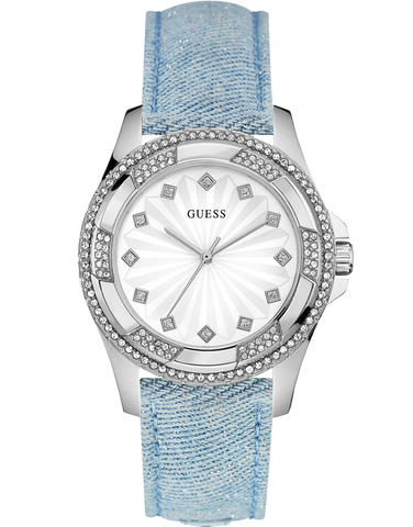 Guess - Ladies Pinwheel Watch - W0703L3