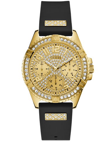 Guess - Ladies Frontier Black and Gold Watch - W1160L1 - 767824