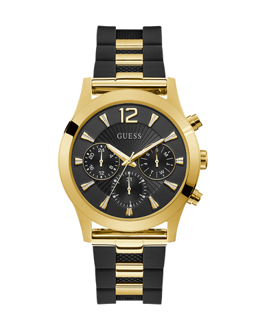 Guess - Ladies Skylar Black and Gold Watch - W1294L1 - 771000