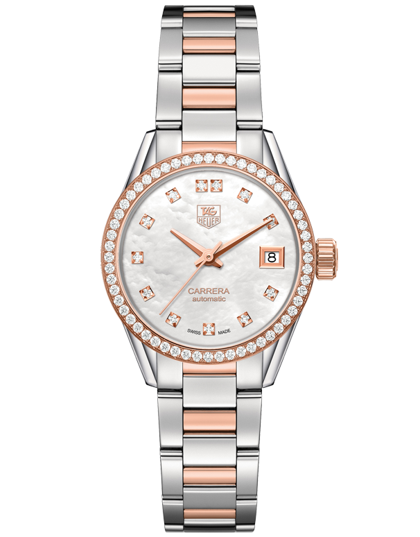 TAG Heuer Carrera Calibre 9 Lady Automatic Watch - WAR2453.BD0777 - 768945