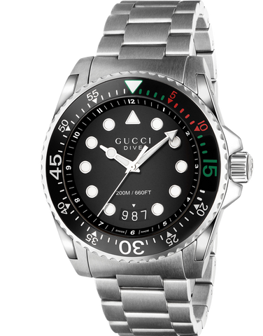 gucci small en interlocking watches