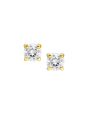 Diamond Studs - 0.05ct Diamond Set Studs - 760814