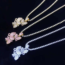 Load image into Gallery viewer, FLY HIGH>>> CLUSTER BUTTERFLY NECKLACES