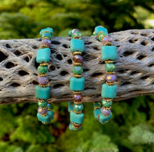 Load image into Gallery viewer, Magnesite Turquoise Stretchy Bracelet