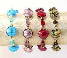 Load image into Gallery viewer, Murano Glass Bracelets