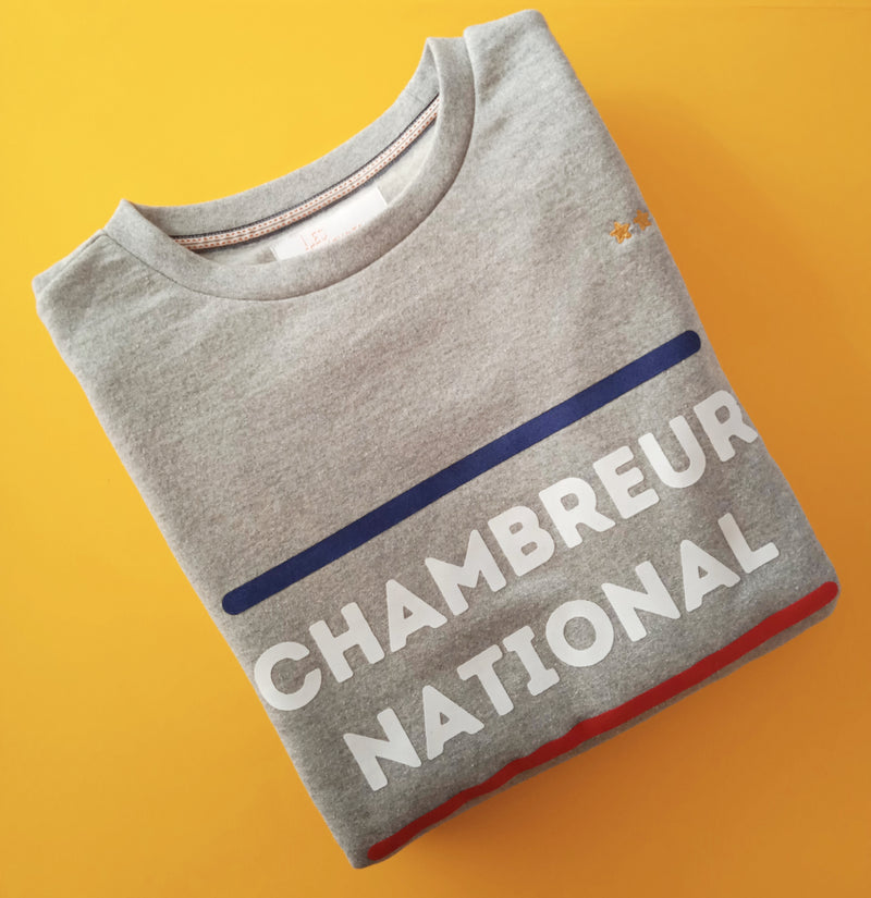 Sweat Unisexe Chambreur National - COTON RECYCLE