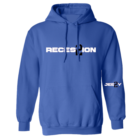 Recession 2 Blue Hoodie