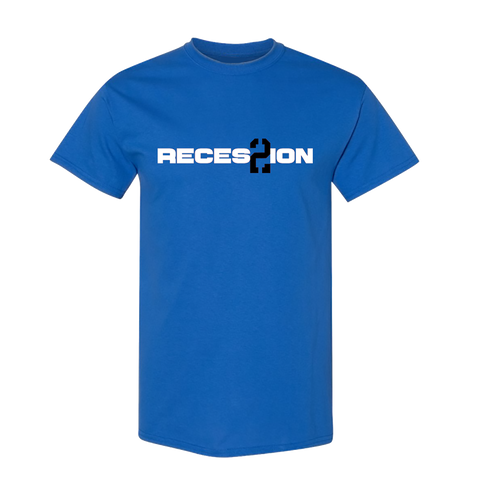 Recession 2 Blue Tee