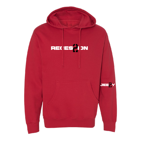 Recession 2 Red Hoodie