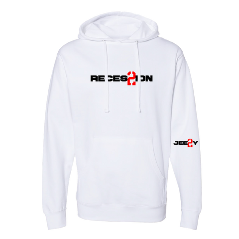 Recession 2 White Hoodie