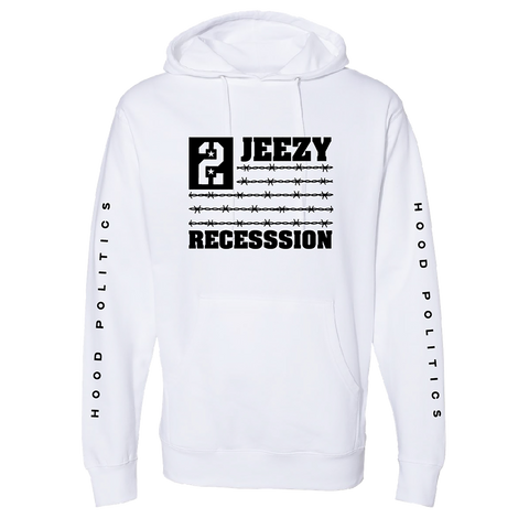 Recession 2 White Hoodie III