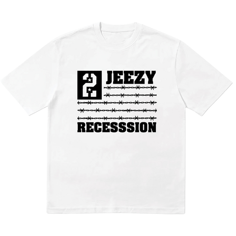 Recession 2 White Tee III