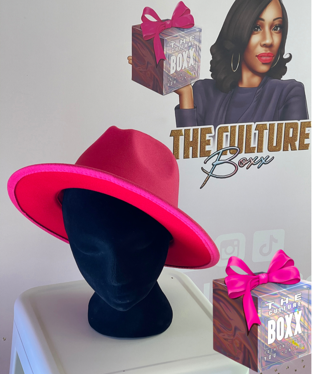 Fedora Hot Pink/Red