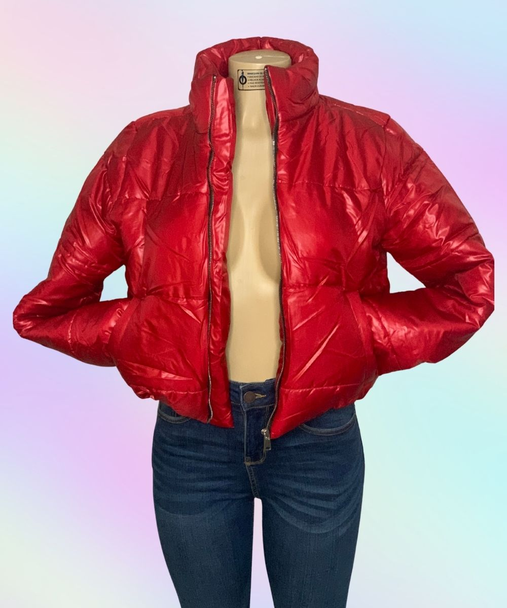 Puffer Jacket Red