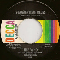 "The Who : Summertime Blues (7"", Single)"