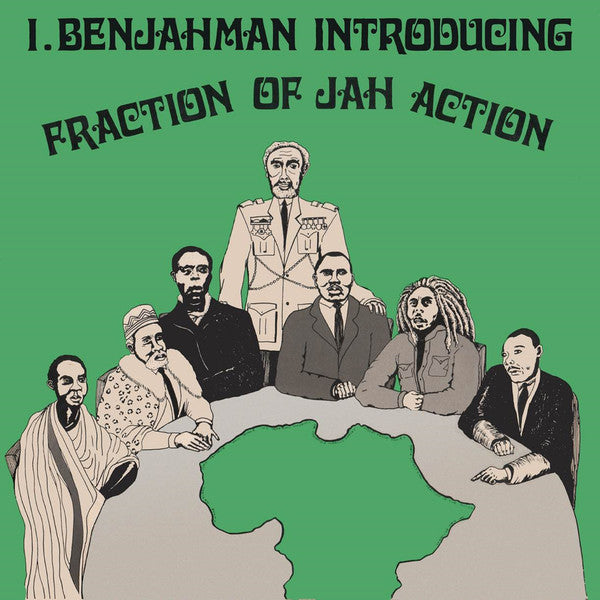I. Benjahman* :  Fraction Of Jah Action (2xCD, Album, RE)