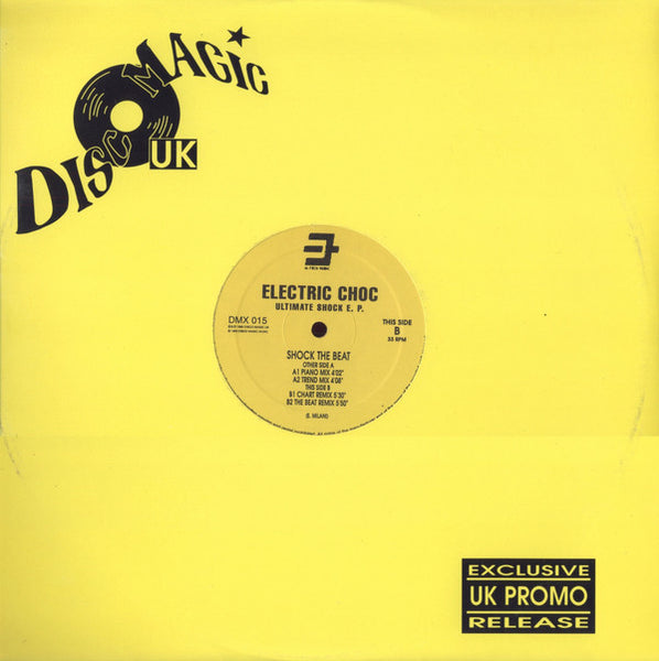 "Electric Choc : Ultimate Shock EP (12"", EP, Ltd, Promo)"