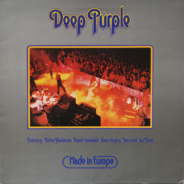 Deep Purple : Made In Europe (LP, Album, Gat)
