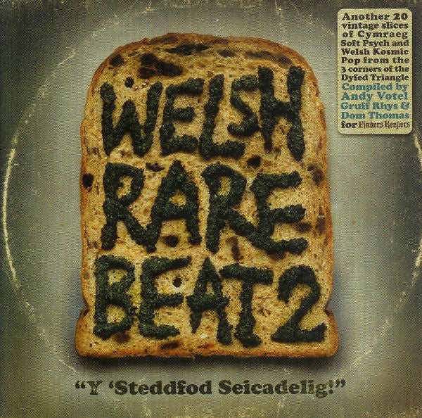 Various : Welsh Rare Beat 2 (LP, Comp)