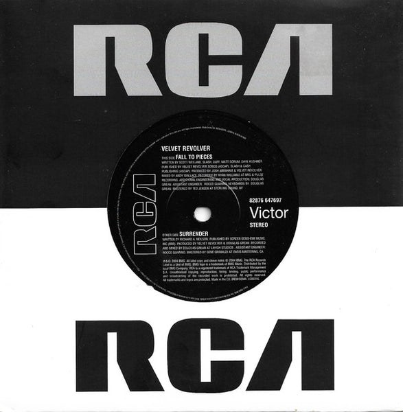 "Velvet Revolver : Fall To Pieces (7"", Single)"