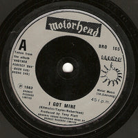 "Motörhead : I Got Mine (7"", Single)"
