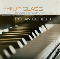 Bojan Gorišek, Philip Glass : Etudes For Piano Book 1, Nos. 1-10 (2xLP, Album)
