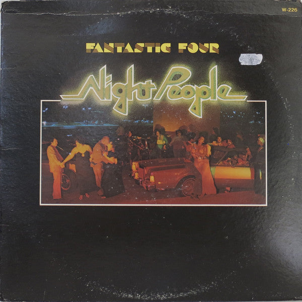 Fantastic Four : Night People (LP, Album, Pit)