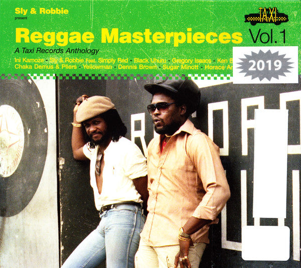 Sly & Robbie : Reggae Masterpieces Vol. 1 (A Taxi Records Anthology) (CD, Comp)