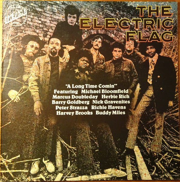 The Electric Flag : A Long Time Comin' (LP, Album, RE)