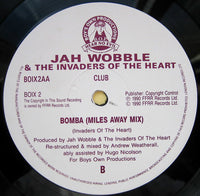 "Jah Wobble's Invaders Of The Heart : Bomba (12"")"