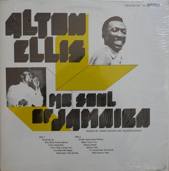 Alton Ellis : Mr Soul Of Jamaica (LP, Album, RE)